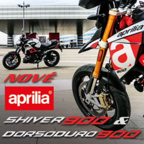Nové Aprilia Shiver 900 a Dorsoduro 900