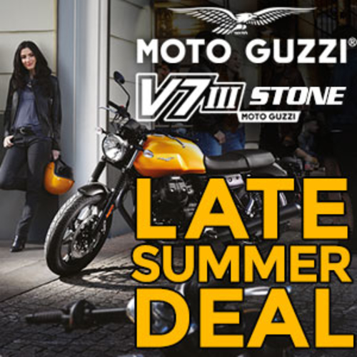 MOTO GUZZI V7 Stone LATE SUMMER SALE