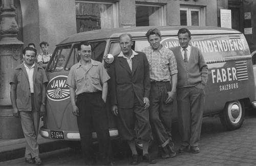 Bild zu 1948 - Gründung des Unternehmens